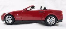 1996 RED Mercedes-Benz SLK 230 1:18 Scale Diecast Metal Maisto Excellent