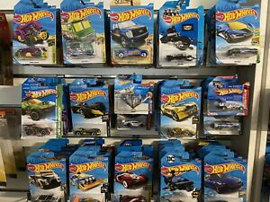 1998 to 2017 Assorted Hot Wheels Diecast Cars