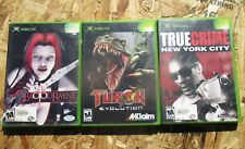 XBOX BloodRayne ~ Torok : Evolution ~ True Crime New York City