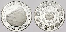 ENCUENTRO DE DOS MUNDOS. 1ª SERIE IBEROAMERICANA.COLOMBIA. 10000 PESOS. 1991