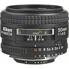 Nikon AF NIKKOR 50mm f/1.4D Autofocus Lens