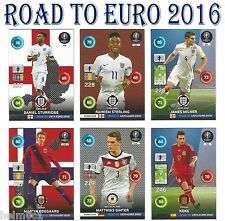 #244-288 RISING STAR / DYNAMO / ONE TO WATCH Road To Euro 2016 Panini Adrenalyn