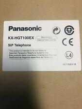 ✅  NEW PRODUCT Panasonic KX-HGT100 SIP IP VOIP BLACK KXHGT100 HGT100 telephone