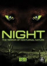 NEW 2DVD - NIGHT - ANIMAL PLANET - THE TERROR OF NOCTURNAL NATURE - 7+ hours