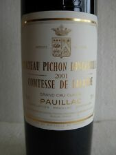CH. PICHON LONGUEVILLE COMTESSE DE LALANDE 2001 - PAUILLAC - 2ème GR CRU CLASSE