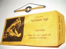 (10) Rattlesnake Egg Envelopes - Classic Gag Prank Joke Toy Noise Maker FUNNY!