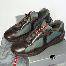 Prada Calzature Uomo Skiskolaer + BI Ebano, TG. 8, size 41.5, vintage shoe Schuh