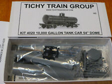 "Tichy Train Group HO #4020 36' 10,000 Gallon USRA Tank Car w/54"" Dome - Kit"