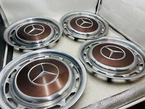 Mercedes 14 Zoll Radkappen W123 W109 W110 W111 W113 404 Milianbraun Braun