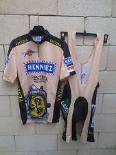 Maillot + Combi Cuissard HENNIEZ FESTINA Clyclotour du LEMAN shirt trikot XL