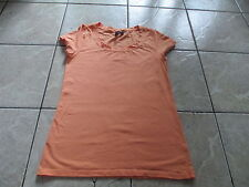 Cynthia Rowley Women Orange T Shirt Size M Medium