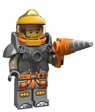 NEW Lego SPACE MINER Astronaut #6 Minifigure~Helmet~Drill Gun~Series 12~SEALED!
