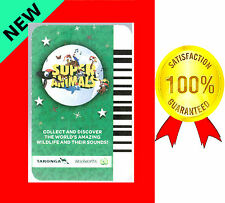 SUPER ANIMALS HUNDREDS NEW SOUND CARDS GREEN WOOLWORTHS TARONGA ORDER BY NUMBERS
