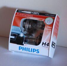 H4 Hi/Lo PHILIPS XV BULB Holden RA Rodeo Jackaroo Gemini Torana LJ LC LX LH