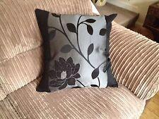 """5 22"""" X 22"""" pulgadas Negro y Plata Cushion Covers.? por qué comprar de ahora?"""