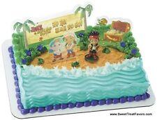 JACK and Neverland PIRATES Cake Party Birthday Supplies Decoration Cupcake Kit *
