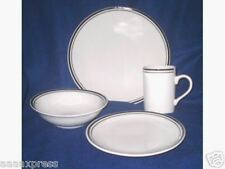 Tabletop Unlimited Stripe Dinnerware Set-New-Great Value-16 Pc