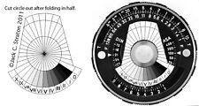 Pentax Spotmeter V (Analog) Zone Disk
