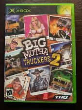 Big Mutha Truckers 2 (Microsoft Xbox, 2005) w Case & Manual Very Nice!