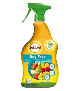Solabiol Bug Free Ready To Use Organic Liquid Bug Killer For Fruit & Veg 1L