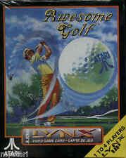 Awesome Golf  Atari (Lynx, 1990) New Factory Shrink Wrap.