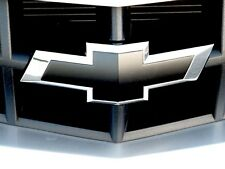 2 Chevy Bowtie Emblem Overlays Front/Back Vinyl Decal Wrap Full Kit Custom