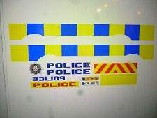 Northern Ireland Police Service   Police Vehicle Decals  24 scale