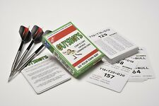 Darts Outshots Checkout Cards Help With Your Darts Counting Great Training Aid