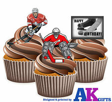 Ice Hockey Cake Decorations Uk : ice hockey cake decorations eBay