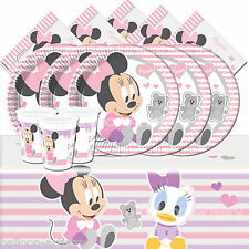 Classic Disney Minnie Mouse Infant Childrens Birthday Complete Party Pack For 16