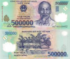 VIETNAM, 500000 Dongs, 2016, P124l, UNC