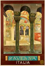 Ravenna Vintage Italian Travel Advertising Poster Giclee Canvas Print 20x30