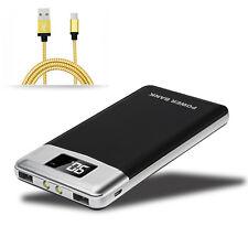 50000mah Power Bank 2USB 2 LED LCD Externe Zusatzakku Ladegerät Für Mobile Phone