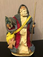 "RARE CLOTHTIQUE ""POSSIBLE DREAMS"" ""SCANDINAVIAN SANTA"" 1986 PAPER MACHE SANTA"