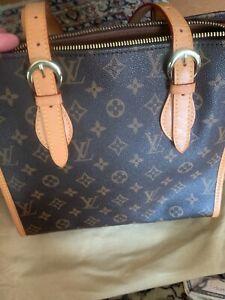 Authentic Louis Vuitton Monogram Canvas Popincourt Haut Shoulder Bag EUC
