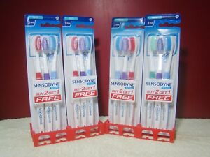 Sensodyne Sensitive Toothbrush 12x Soft Bristles Soft Brush GSK Lot of 12 FS