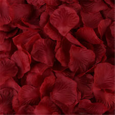 1000pcs Simulation Rose Petals For Wedding Party Table Confetti Decorations