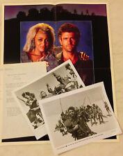 MAD MAX BEYOND THUNDERDOME (1985) Press Kit Photos, Mini-Poster; Tina Turner