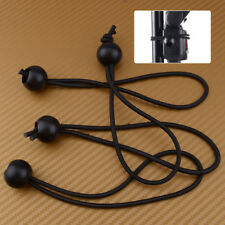 4pcs Flag Pole Clip Attach Windsocks Ball Bungee Loop Cord Elastic Tie Rope