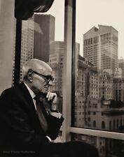 1990 Vintage PHILIP JOHNSON Modern Architecture By YOUSUF KARSH Photo Art 16x20