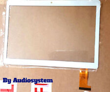 "VETRO+ TOUCH SCREEN MEDIACOM SMARTPAD GO 10 M-SP1AGO3G 9.6"" BIANCO X DISPLAY"