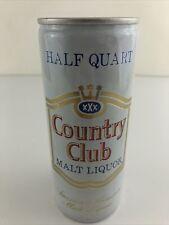 Country Club Malt Liquor Beer 16 oz Half Quart Bottom Opened Pull tab Can
