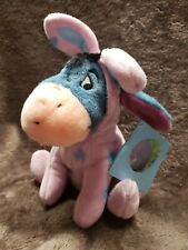 Uk Disney Easter Eeyore bunny egg costume Bean Bag Plush rare beanie collection