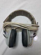 Vintage GE Headphones H-14 Tested Work Great JAPAN