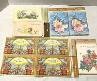 Vintage American Greeting Cards Baby Bridal Shower Invitation Lot of 9