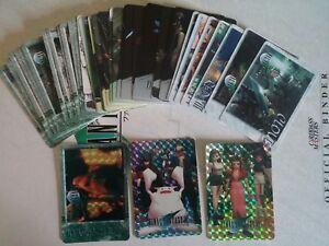 Lot de 51 cartes Final Fantasy VII (FF7) Carddass Cards