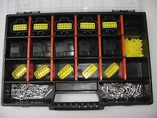 Econoseal Stecker 5 x 12-polig + Box für Auto Lkw Motorrad Ducati Quad