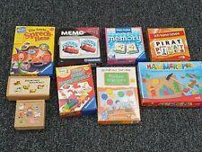 Diverse Gesellschaftsspiele für Kinder / Lernspiele