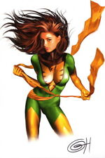Greg Horn SIGNED Marvel Comics X-Men Art Print ~ Phoenix / Jean Grey
