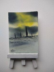 ELW Original, Aceo Cards.  High seas.